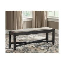 View Product - Tyler Creek Upholstered Bench Black/Gray