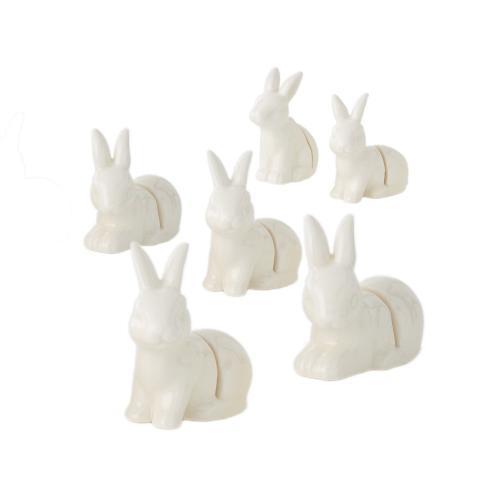 "2.25""x 1""x 1.25"" Bunny Namecard Holder"
