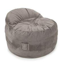 See Details - Full Chair - NEST Chenille - Charcoal