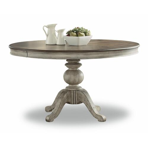 Flexsteel - Plymouth Round Pedestal Dining Table
