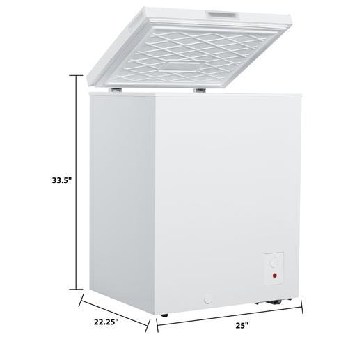 Avanti - 5.0 cu. ft. Chest Freezer