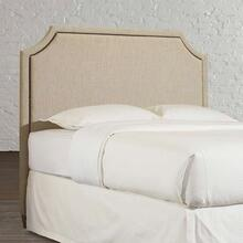 Custom Uph Beds Florence Full Clipped Corner Bed, Footboard Low, Storage None, Insert Type Tufted