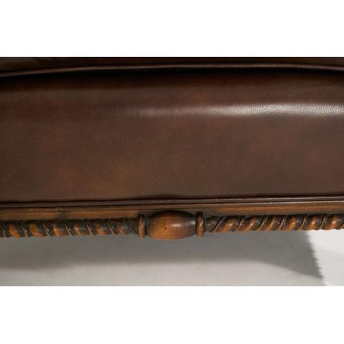 2Pc.Leather RAF Sofa & LAF Loveseat