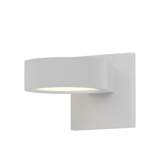 Sonneman - A Way of Light - REALS® Downlight LED Sconce [Color/Finish=Textured White, Lens Type=Plate Cap and Plate Lens]