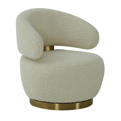 Austin Faux Shearling Chair