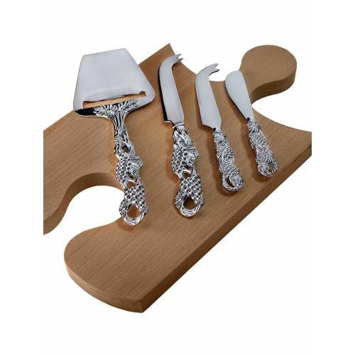 Epicureanist Vineyard Cheese Knives (Set of 4)