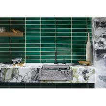 """See Details - 24"""" Apron Front Butler Sink - Polished Distressed"""