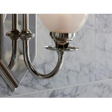 See Details - Wall Sconce - Nickel Silver