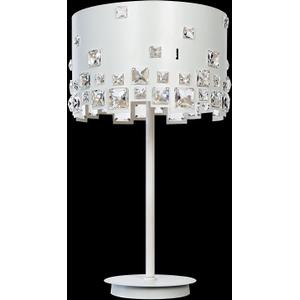 Table Lamp, White/crystal Deco., Type Jcd/g9 40wx3