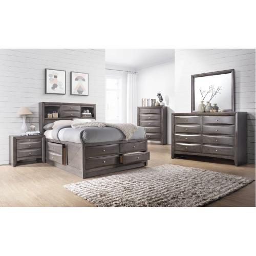 Emily Grey Storage Bedroom