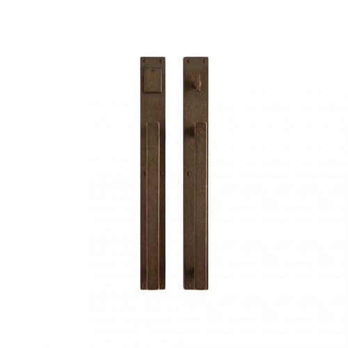 "Rocky Mountain Hardware - Metro Push/Pull Set - 2 1/4"" x 20"" Silicon Bronze Medium"