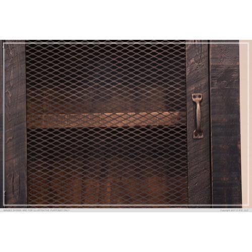 Gallery - 3 Drawer, 1 Sliding door, 1 Mesh door Gentleman's Chest