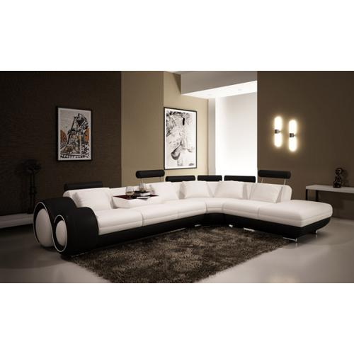 Divani Casa 4086 Modern Leather Sectional Sofa