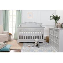 Cloud Grey Louis 4-in-1 Convertible Crib