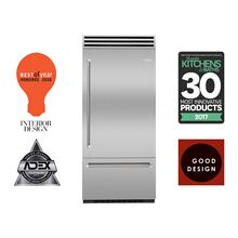 """Product Image - 36"""" PRO Built-In Refrigerator/Freezer Right Hinge"""