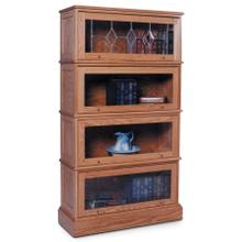 Barrister Bookcase, Barrister Bookcase, 4-Stack