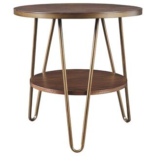 Lettori Round End Table