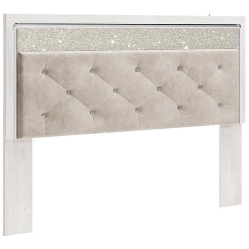 Altyra King/california King Upholstered Panel Headboard