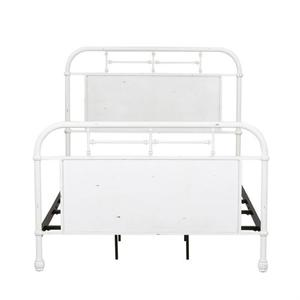 Liberty Furniture Industries - Full Metal Bed - Antique White