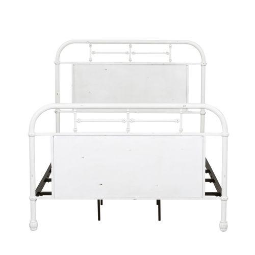 Full Metal Bed - Antique White