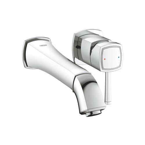 Grandera 2-handle Wall Mount Faucet 1.2 Gpm
