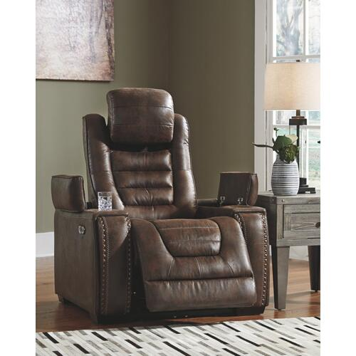 Game Zone Power Recliner