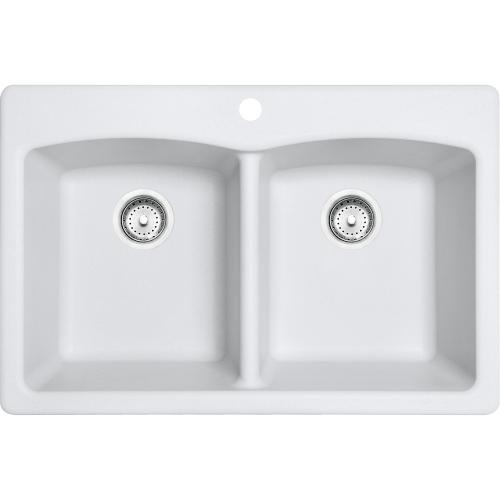 Franke - Ellipse EDPW33229-1 Granite Polar White