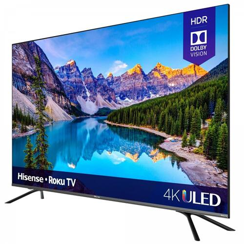 "55"" Class - R8 Series - 4K ULED Hisense Roku Smart TV (2020)"