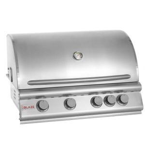 Blaze GrillsBlaze 32 Inch 4-Burner Grill With Rear Burner, With Fuel type - Propane