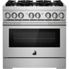"36"" RISE™ Dual-Fuel Professional-Style Range, RISE Product Image"