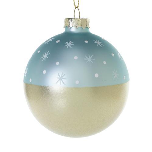 """3"""" Light-Blue Stargaze Ornament"""