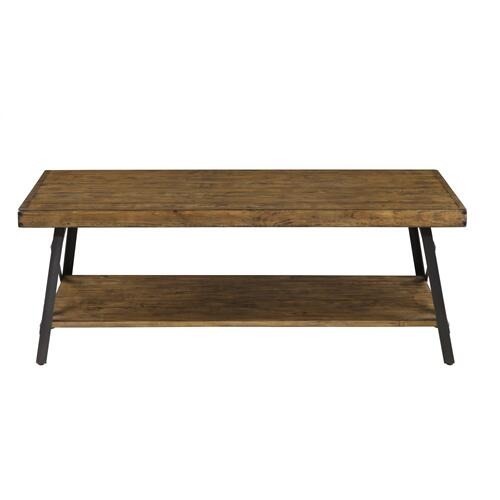 Emerald Home Chandler Cocktail Table Natural T100-0e