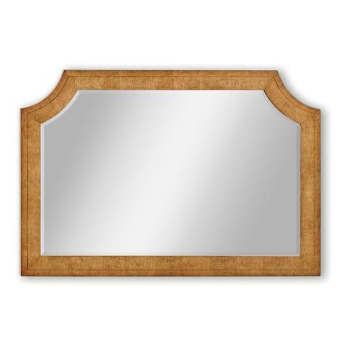 Biedermeier style overmantle mirror