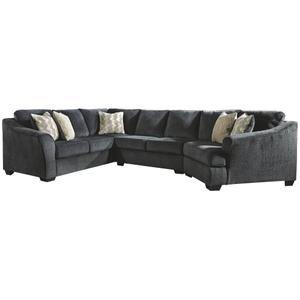 Eltmann 3-piece Sectional With Cuddler