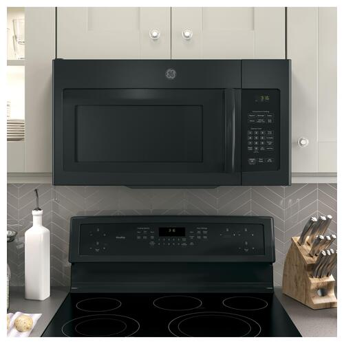GE Appliances - GE® 1.6 Cu. Ft. Over-the-Range Microwave Oven with Recirculating Venting