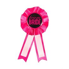 "See Details - ""Team Bride"" Badge"