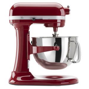 KitchenAidPro 600™ Series 6 Quart Bowl-Lift Stand Mixer - Empire Red