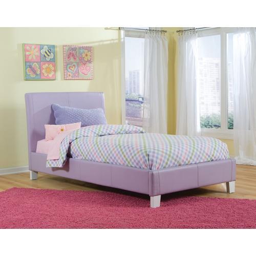 Fantasia Twin Bed, Lavender