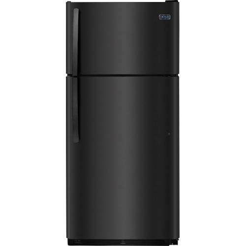 Crosley - Crosley Top Mount Refrigerator - Stainless