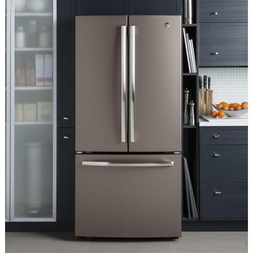 GE Appliances - GE® ENERGY STAR® 24.8 Cu. Ft. French-Door Refrigerator