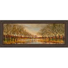 """""""Twilight On The River"""" By Carson Framed Print Wall Art"""