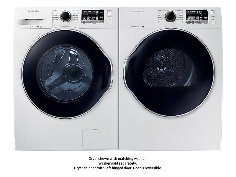 4.0 cu. ft. Electric Dryer in White Photo #4