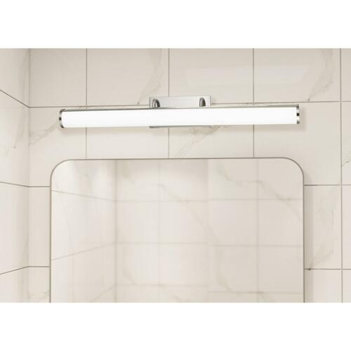 integrated LED 39W, 3500 Lumen, 80 CRI Dimmable Vanity Light With Acrylic Diffuser