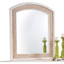 Fairwind Arched Seagrass Mirror