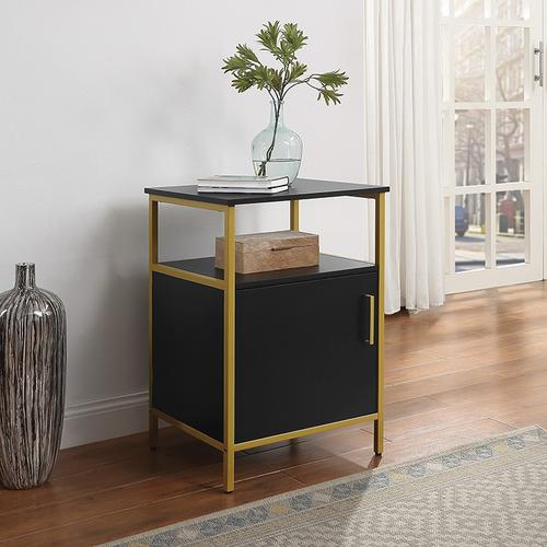 Modern Life Black Utility Table and Printer Stand
