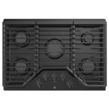 "See Details - GE 30"" Built-In Deep-Recessed Edge-to-Edge Gas Cooktop Black - JGP5030DLBB"