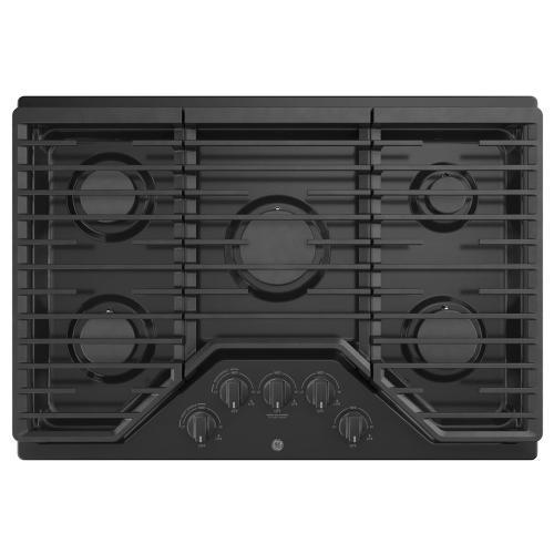 "GE 30"" Built-In Deep-Recessed Edge-to-Edge Gas Cooktop Black - JGP5030DLBB"