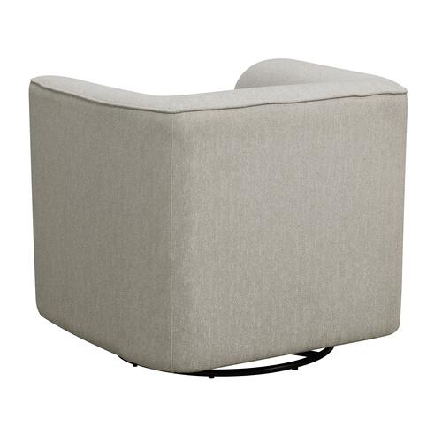 Whirlaway Swivel Accent Chair, Parchment Gray U3272-04-13a