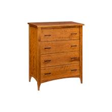 View Product - Malibu 4 Drawer Chest-provincial