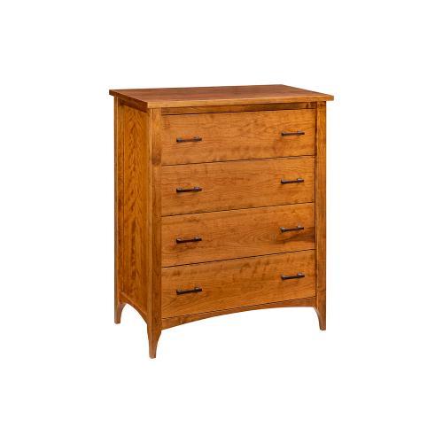 Green Gables Furniture - Malibu 4 Drawer Chest-provincial